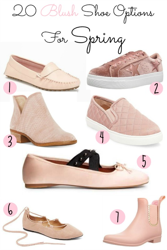 20 blush shoe options for spring