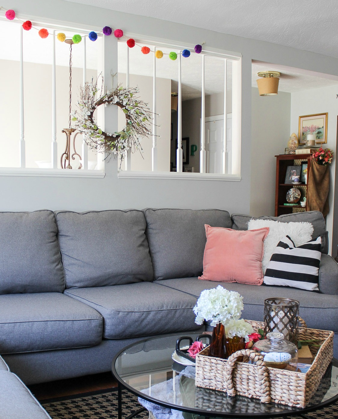 Spring decorating ideas | living room decor