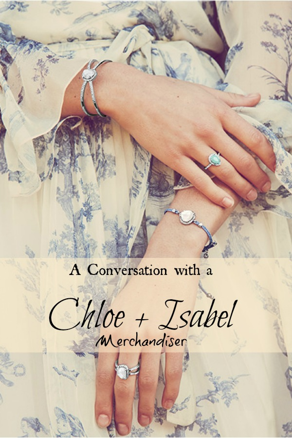 conversation with a chloe and isabel merchandiser