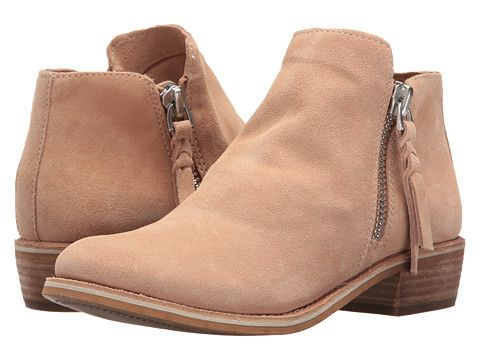 blush suede boots