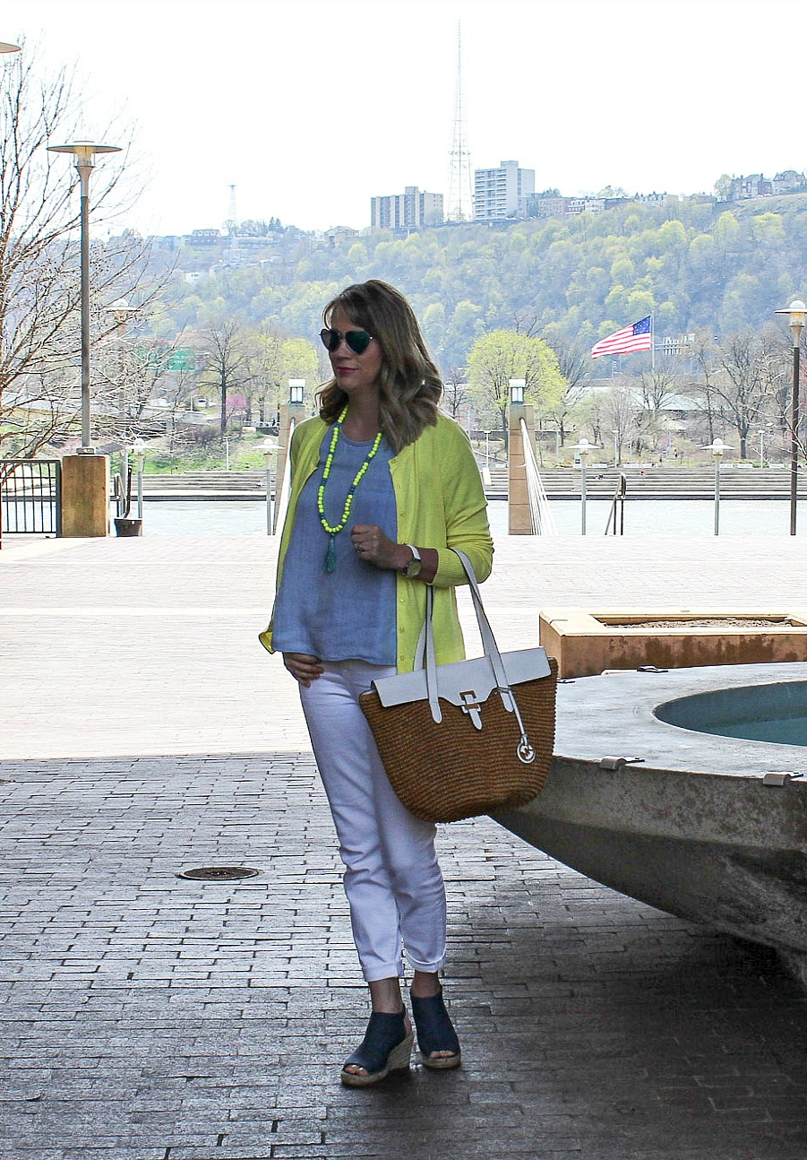 6 Ways to Style White jeans