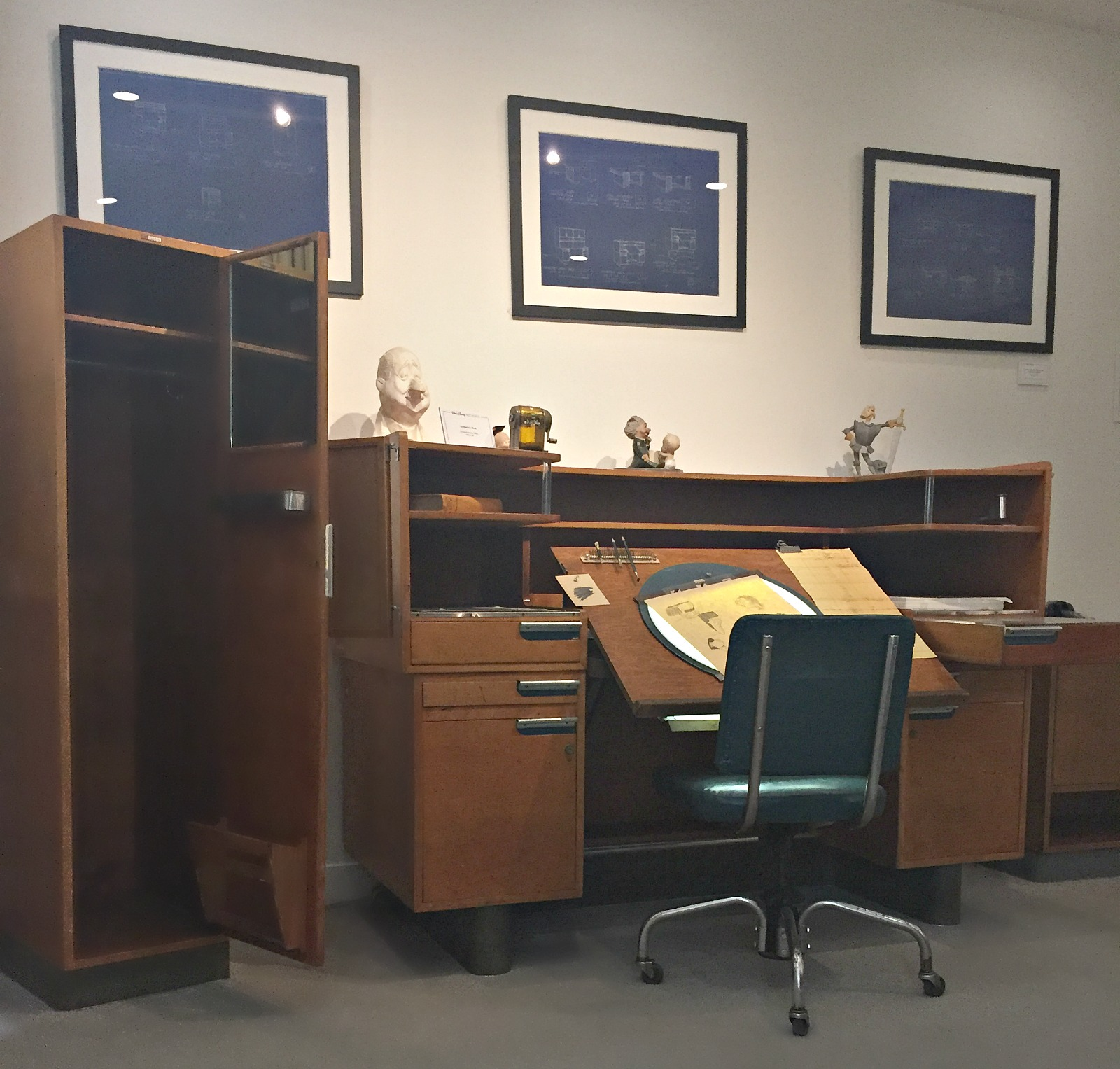 Walt Disney's Office | Disney Studios Burbank
