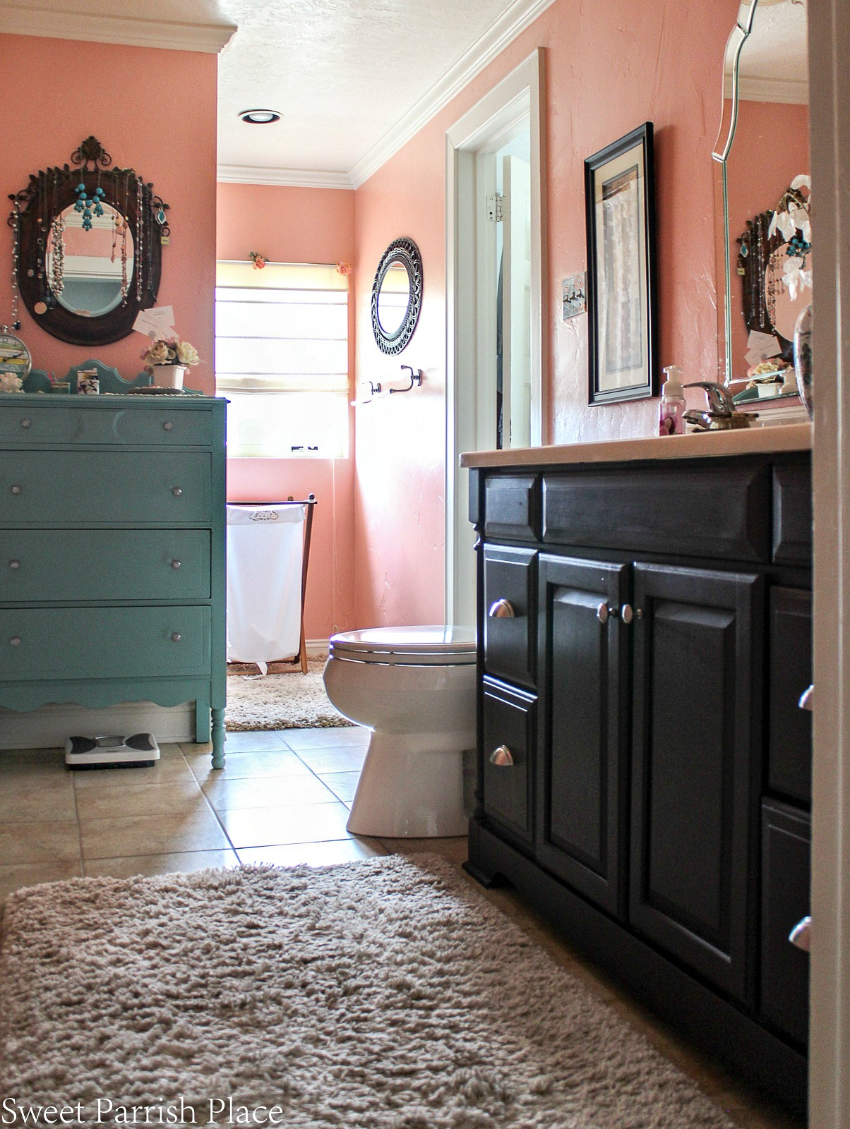 97 year old home tour-master bathroom