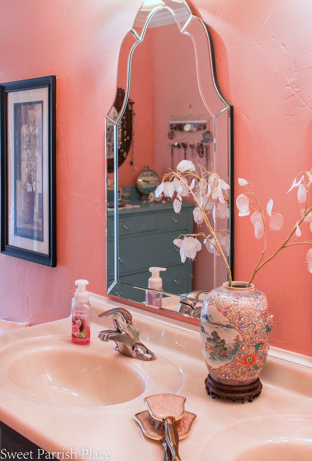 97 year old home tour- master bath