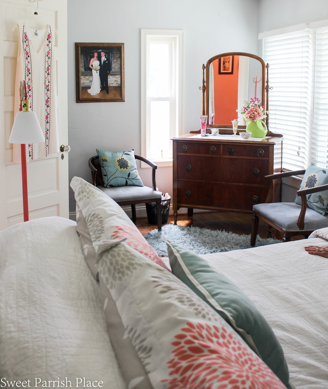 97 year old home tour- master bedroom