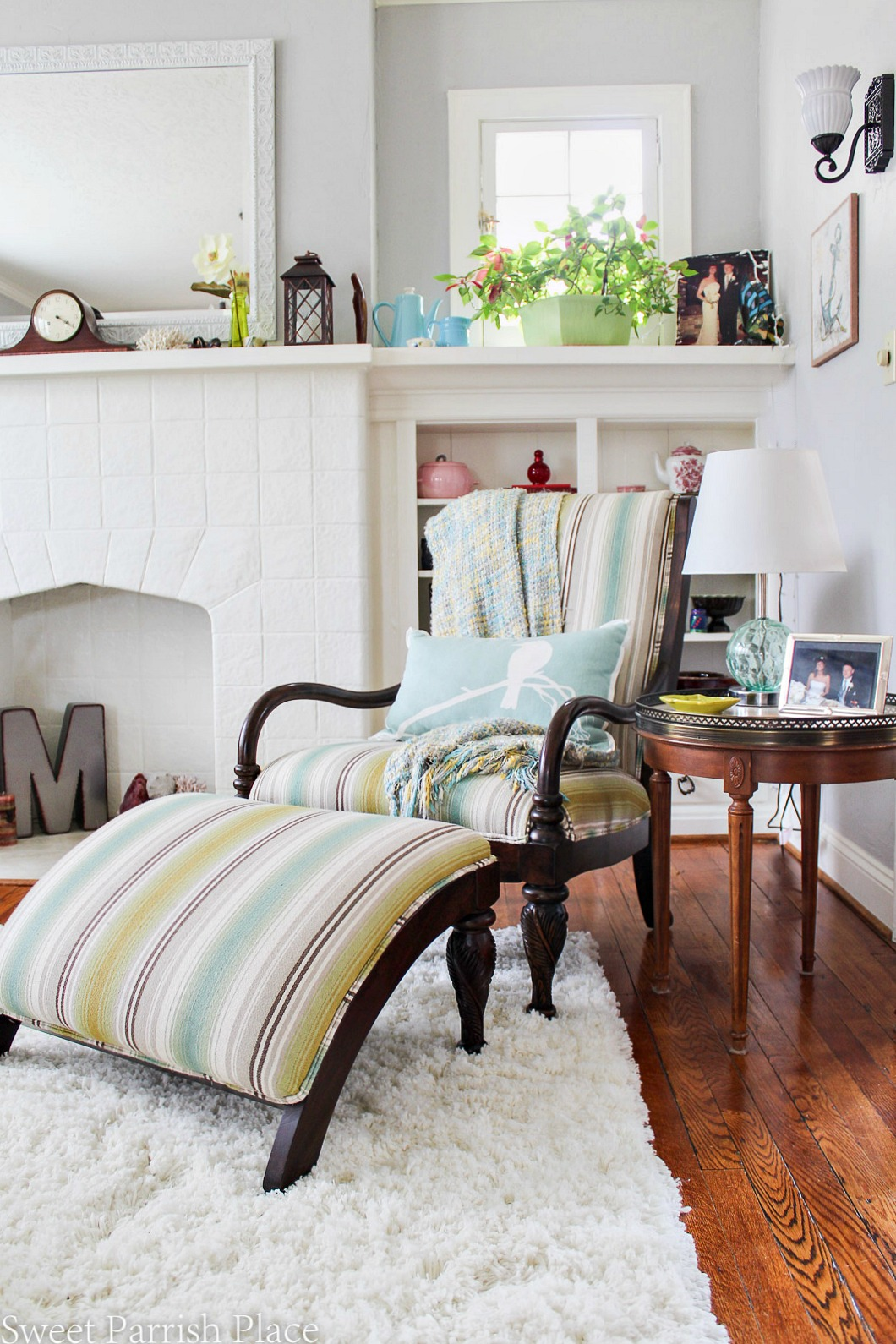 97 year old home tour-Paula Deen Chair