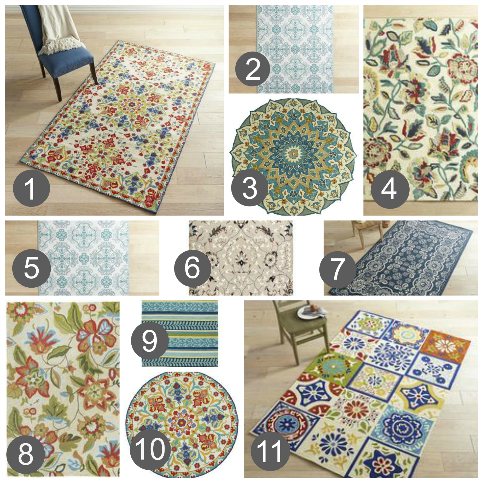 use outdoor rugs in the house