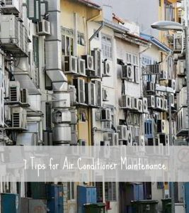 7 tips for air conditioner maintenance