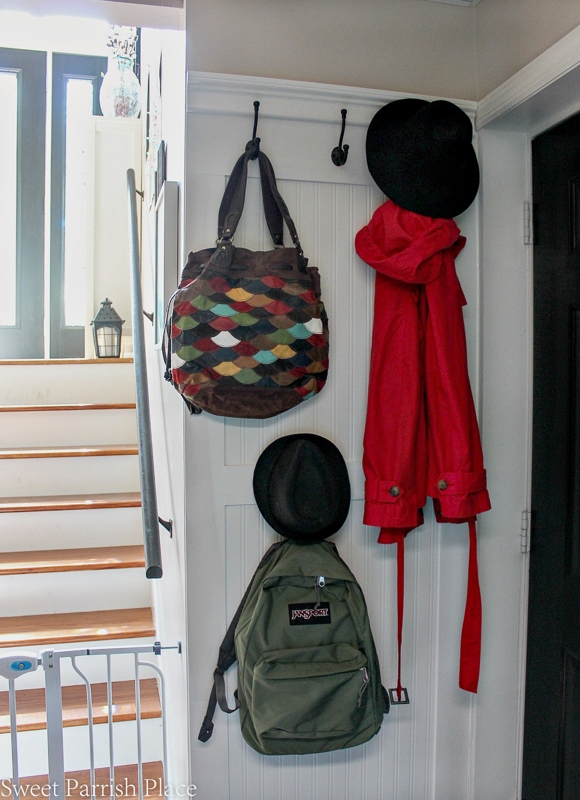 Fall home tour the mudroom