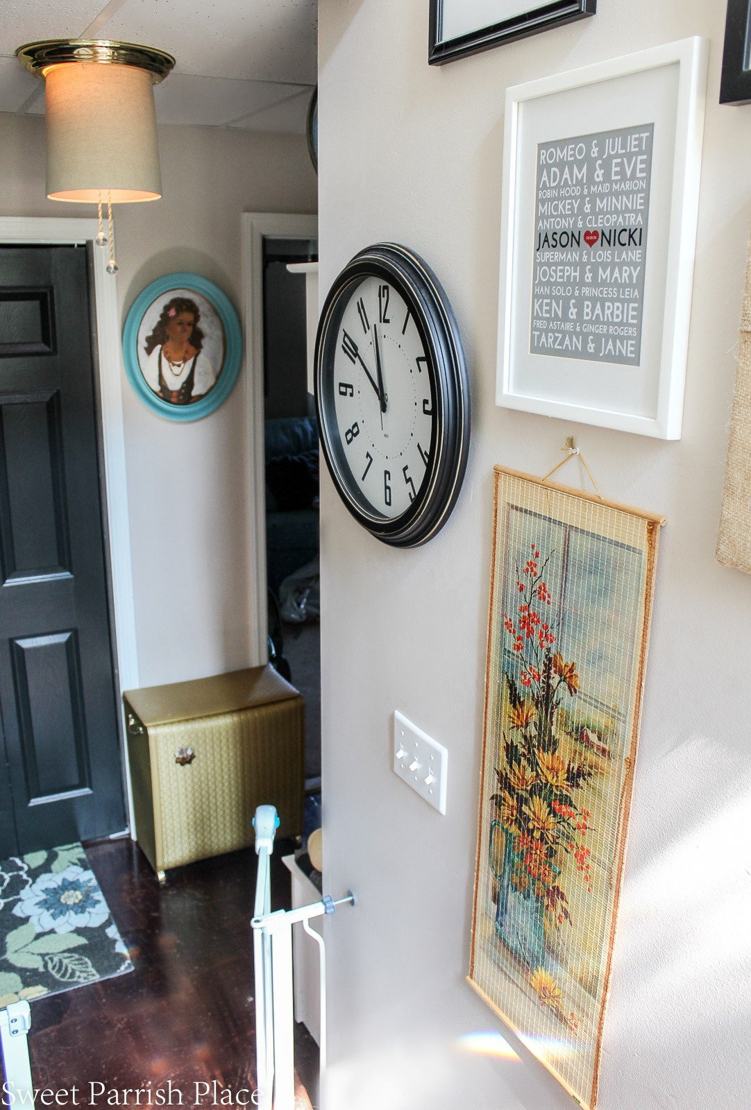 Fall home tour part one entryway and mudroom sweet parrish place fall decor amipublicfo Gallery