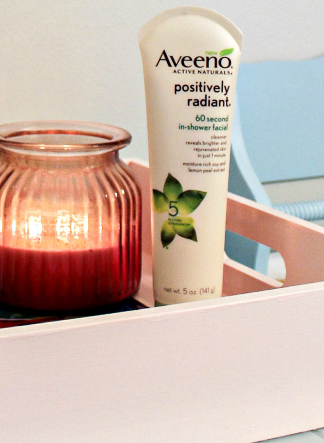 Aveeno Positively Radiant 60 second in shower facial