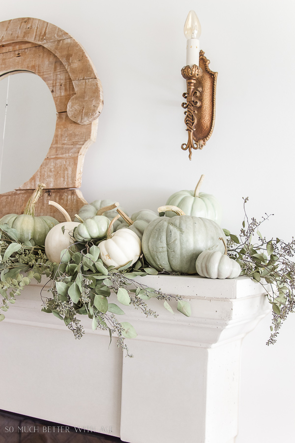 fall mantle-my favorites