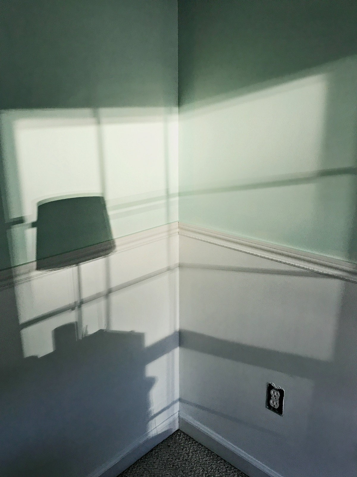 boys bedroom makeover- sea glass paint color