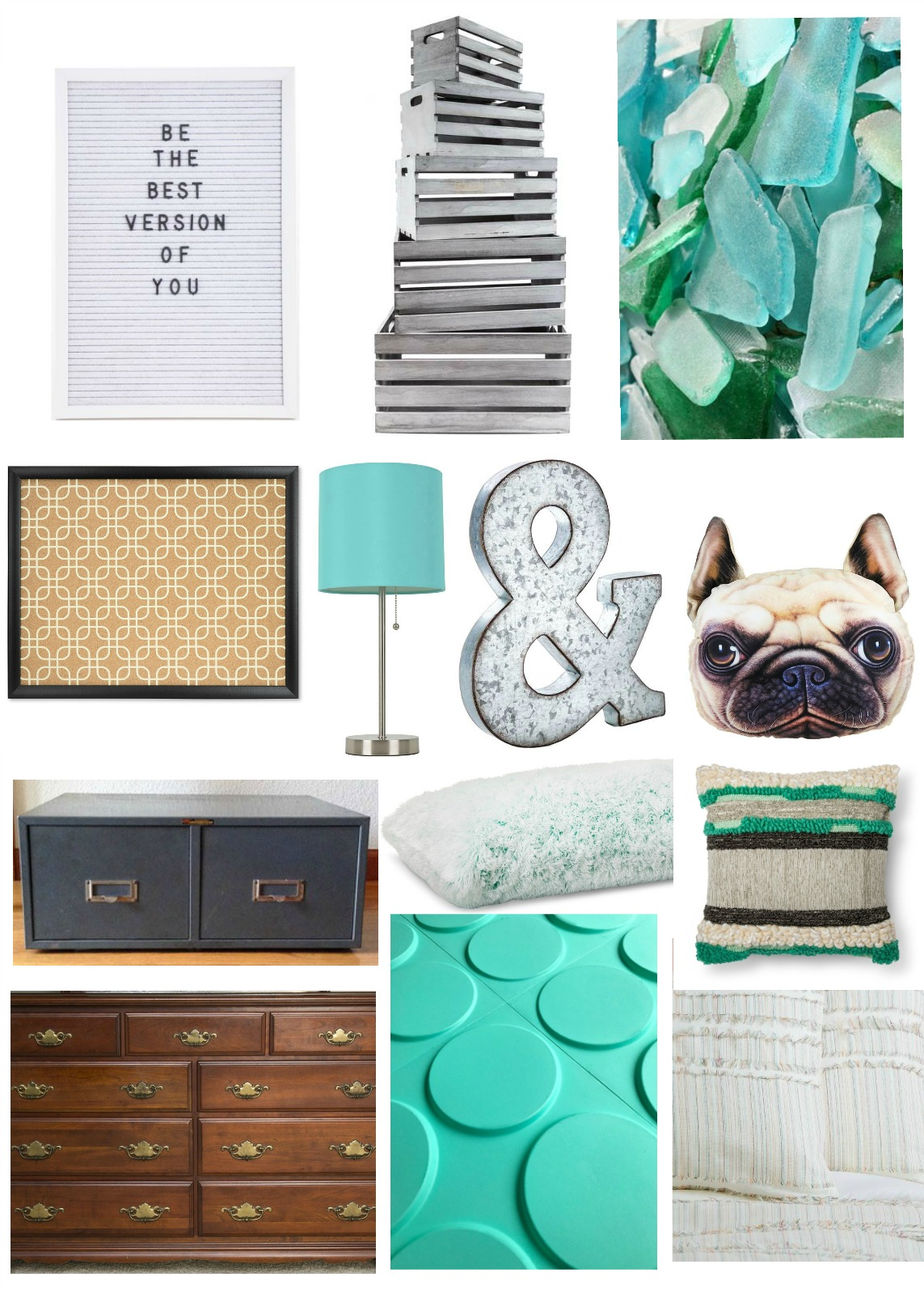 boys bedroom makeover mood board