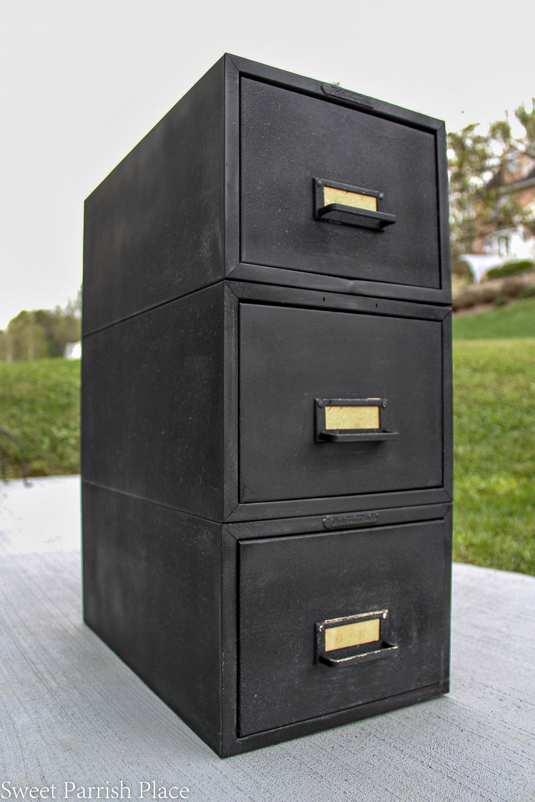 Cool Rustic File Cabinet Officehom