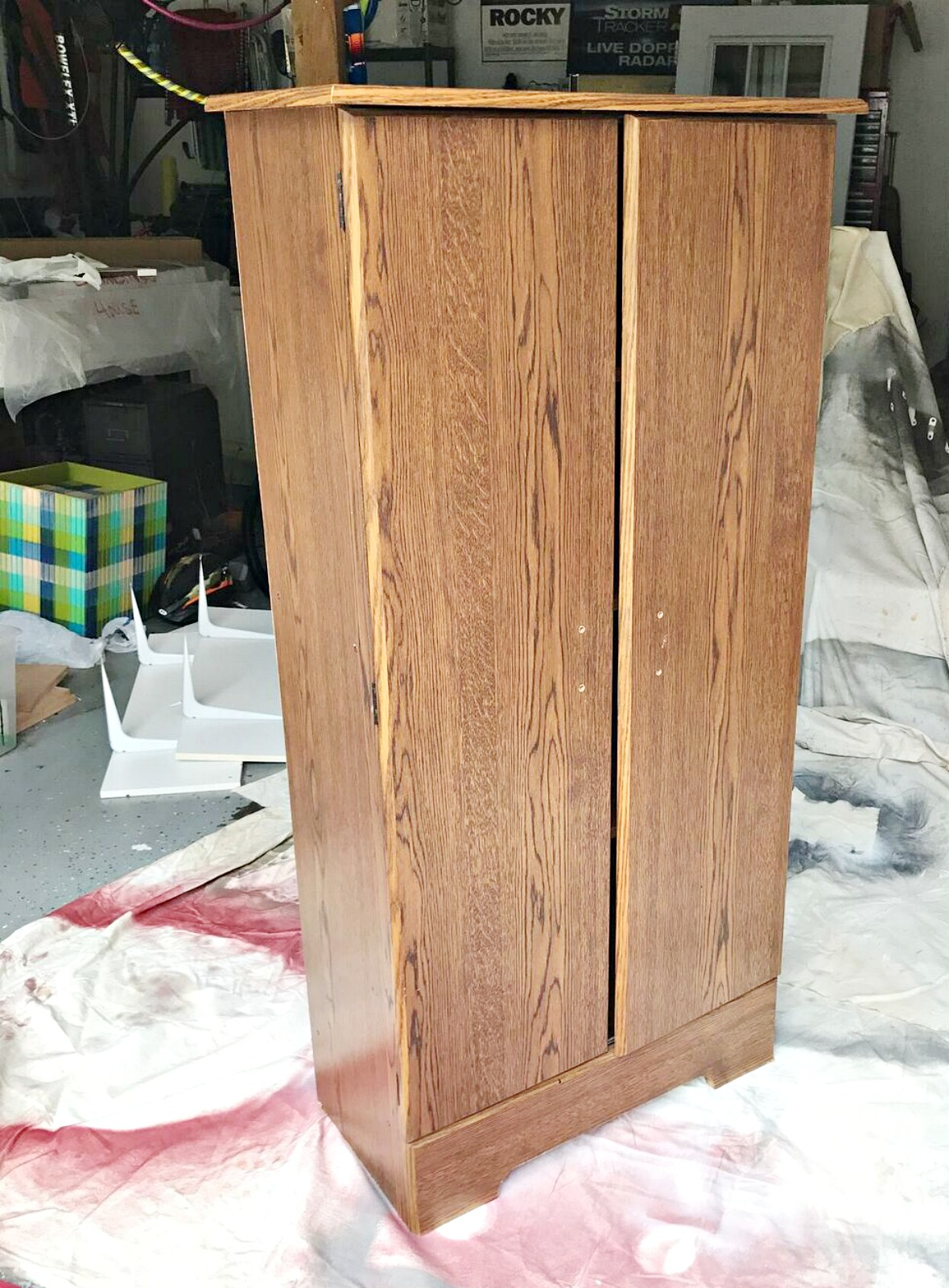 painting laminate cabinets with chalk paint orc week 2 painting a laminate cabinet with chalk paint 164