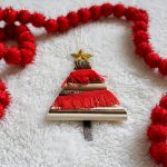 Boho Christmas Tree Ornament | 2017 Ornament Exchange