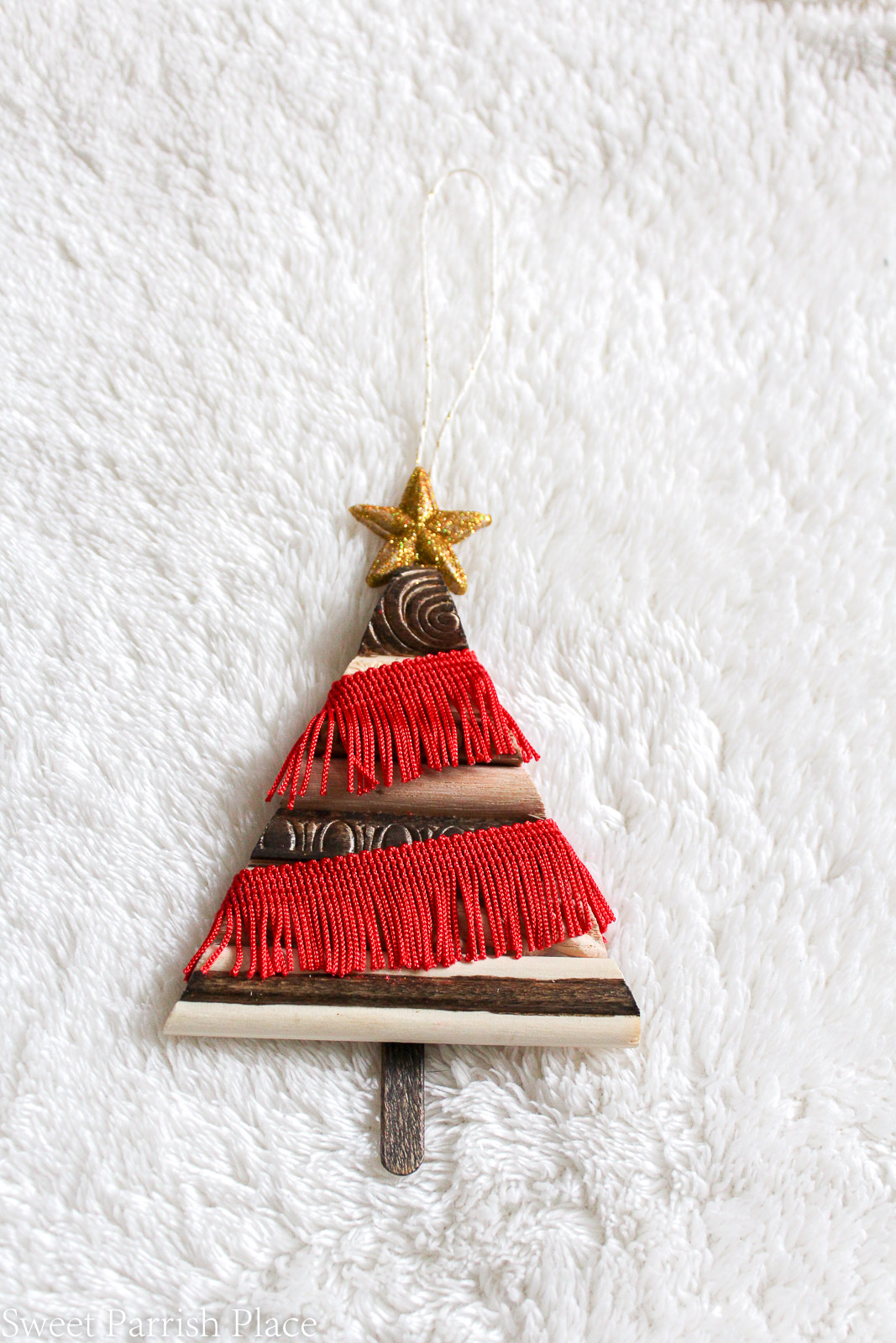 boho Christmas Tree ornament