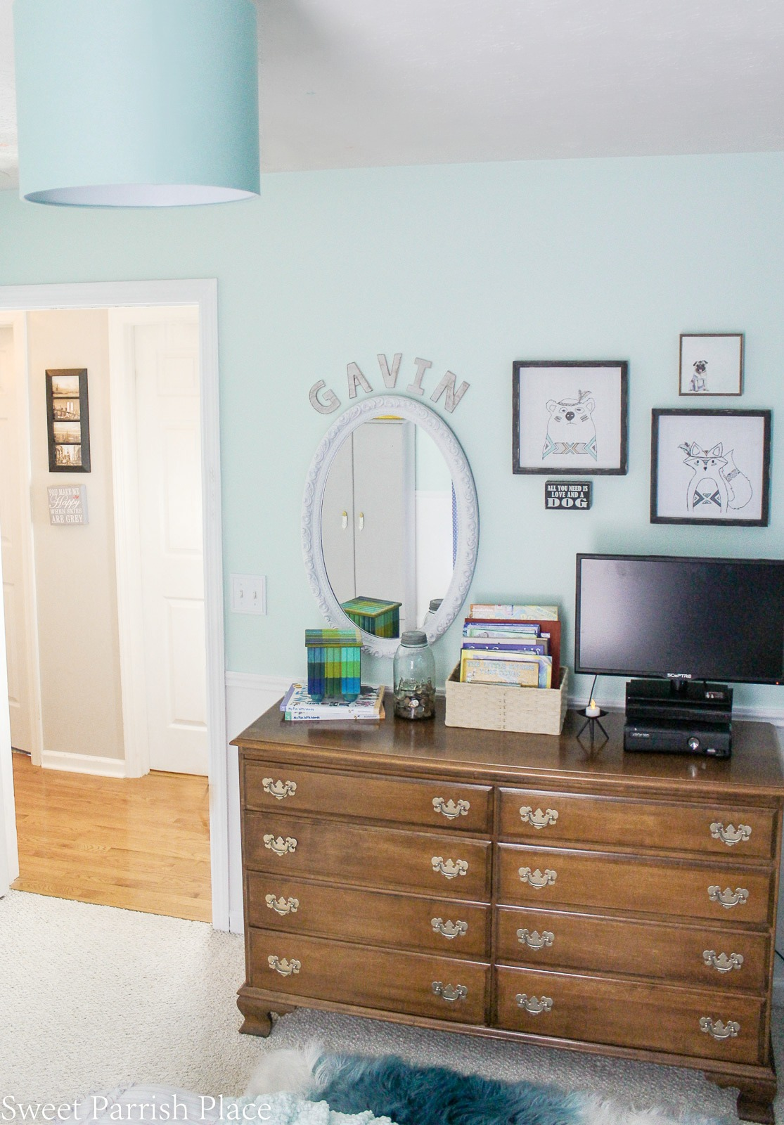 boys bedroom makeover reveal 10