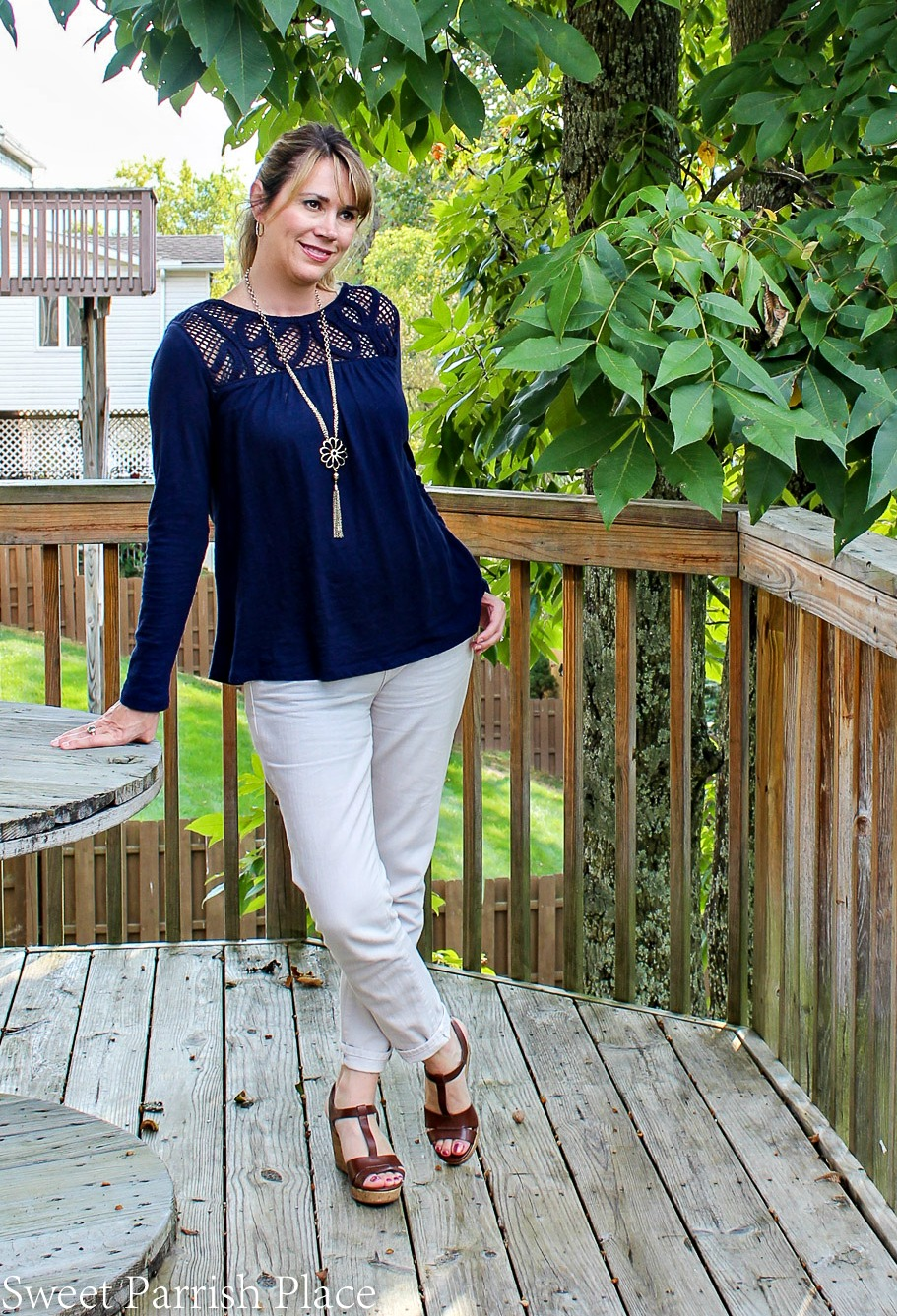 crochet top outfit 1