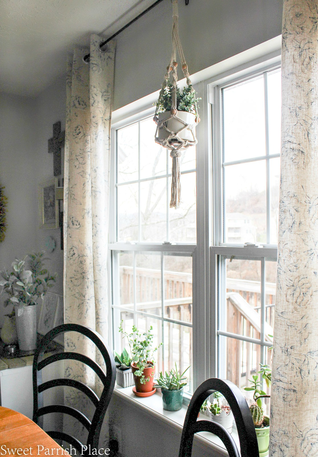 window ledge with plants