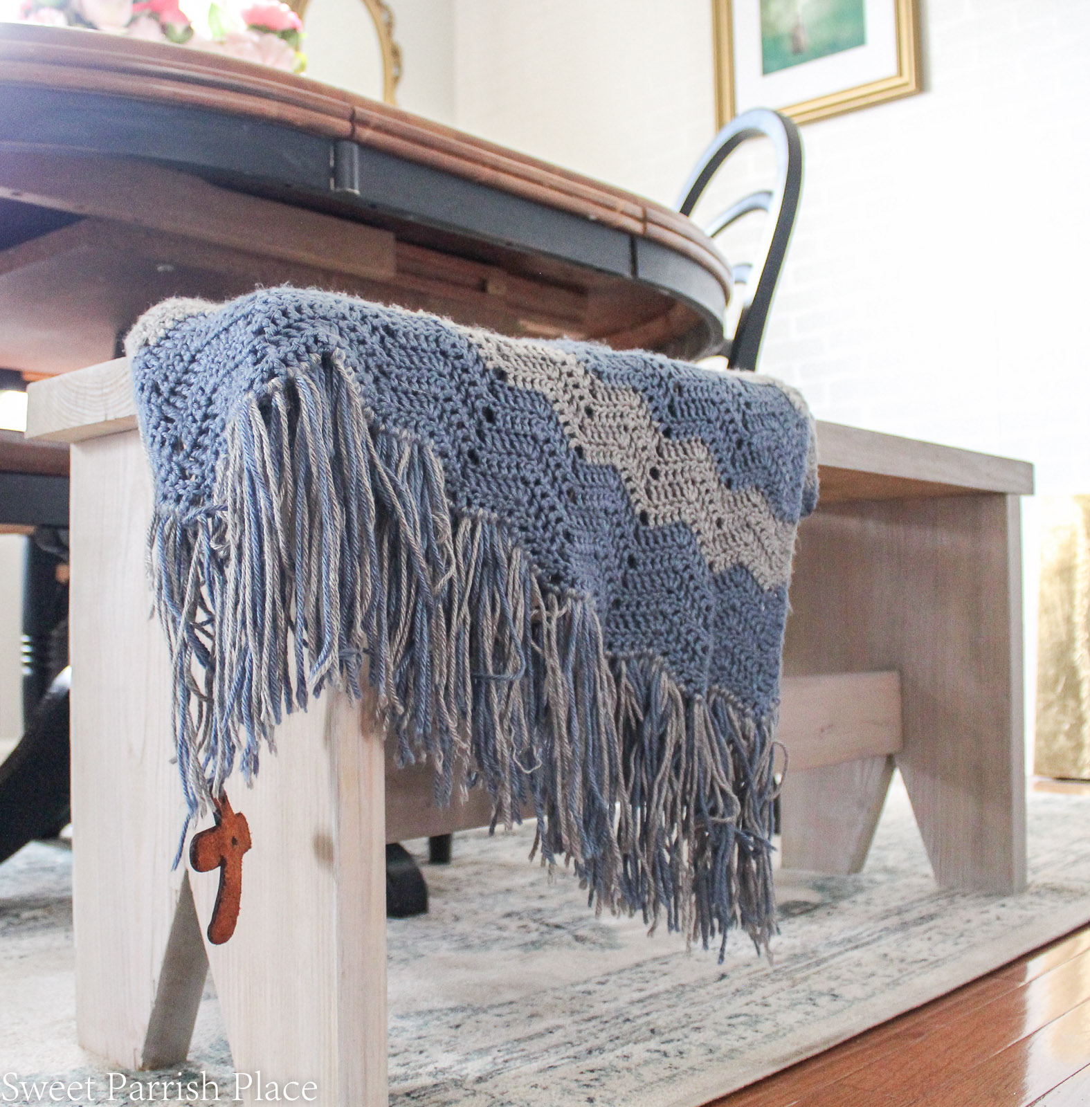 modern farmhouse bench