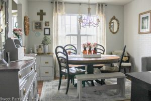 Modern Farmhouse dining room/office reveal