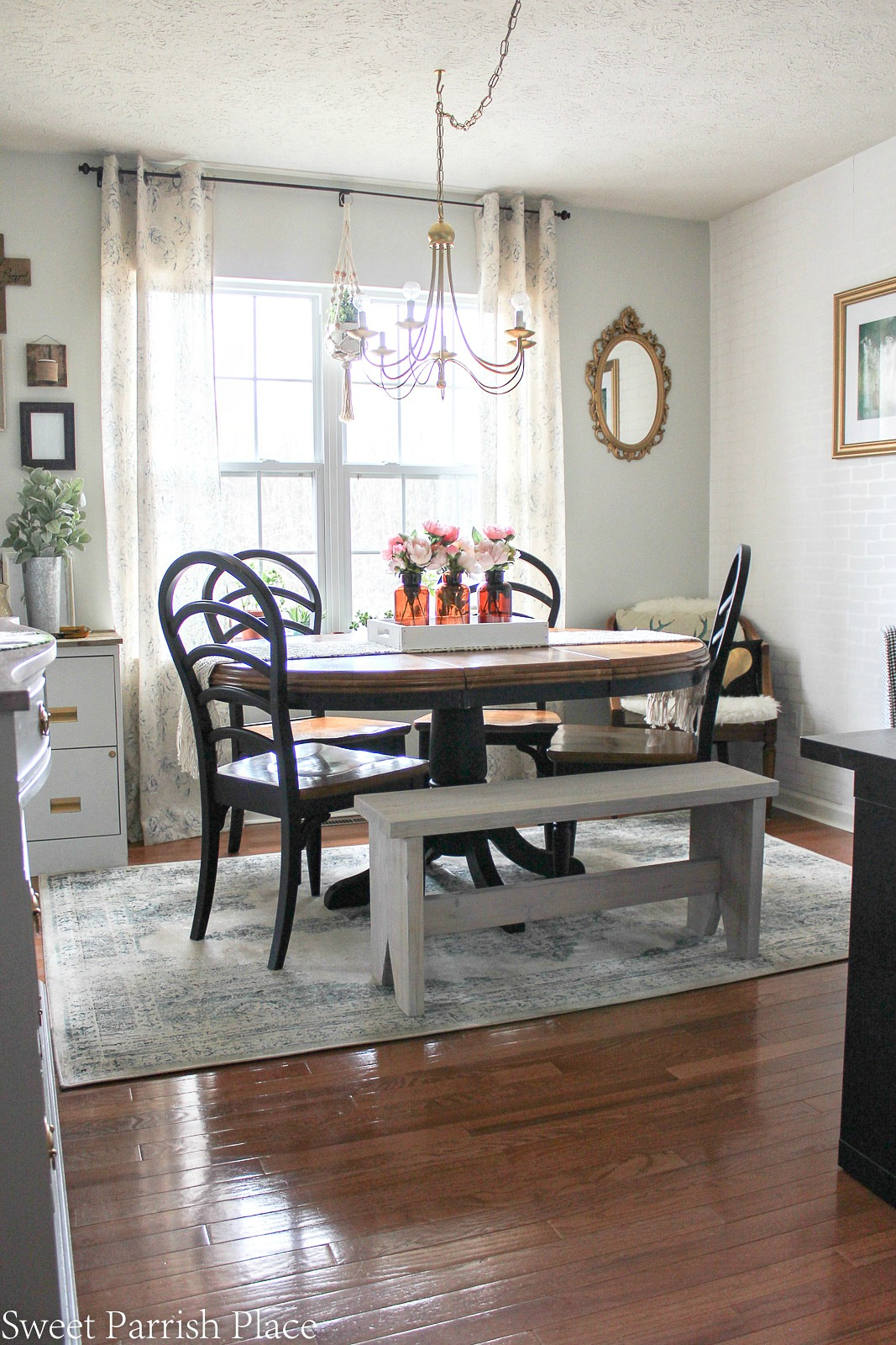 modern farmhouse dining room reveal
