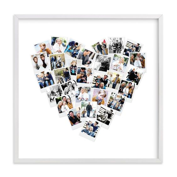 heart snapshot wall art