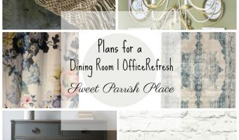 Dining Room/Office Refresh | $100 Room Challenge