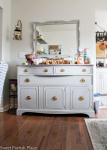 Painted Buffet  $100 Room Challenge #4