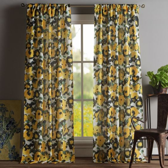 sedona floral curtains wayfair