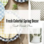 Fresh Colorful Spring Decor | I'm Loving It