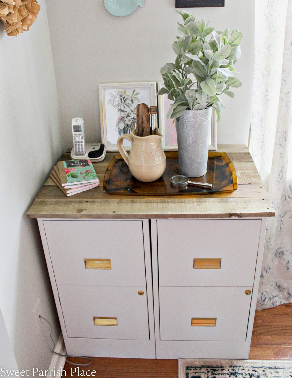 ideas for old metal filing cabinets