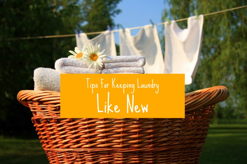 Tips For Keeping Laundry Like New | Clean and Tidy Friday