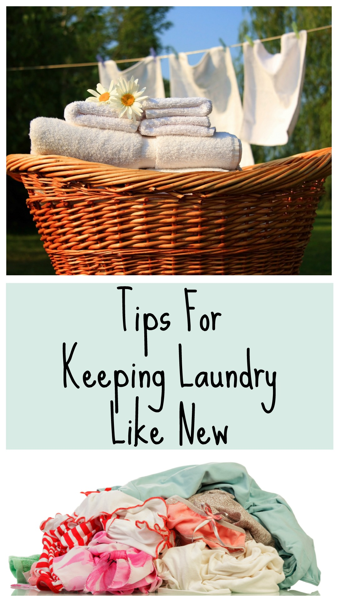 Having three kids, a husband and a dog, I am a self proclaimed expert at laundry, and today I am happy to share my tips for keeping laundry like new!