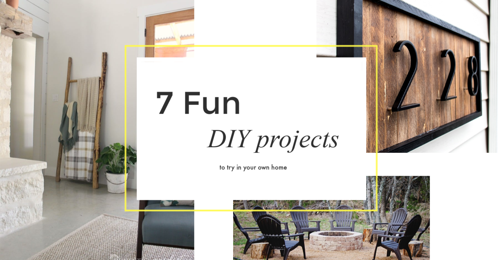 7 fun DIY projects