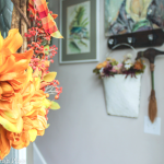 Colorful Fall Home Tour | Entryway