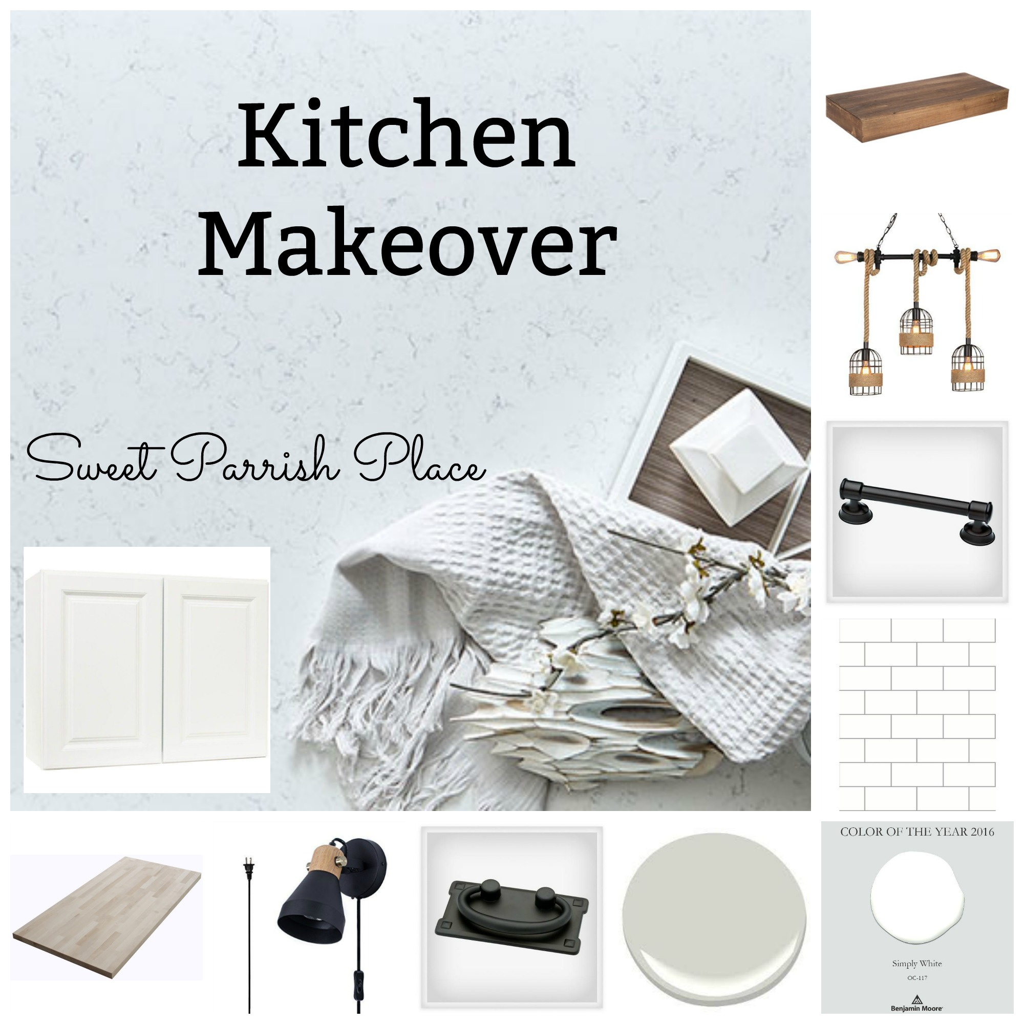 kitchen inspiration board