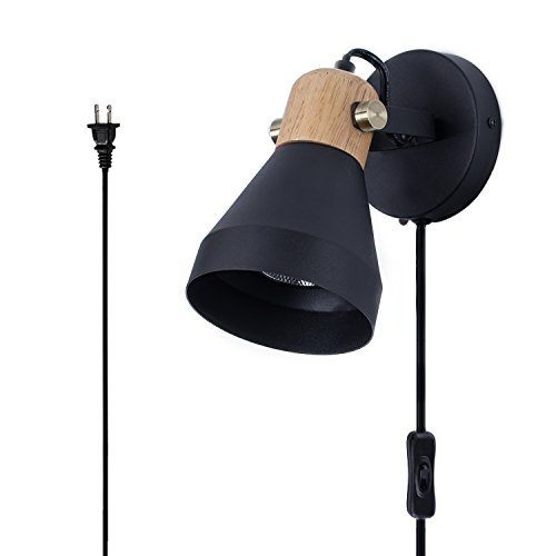 modern black wall sconce