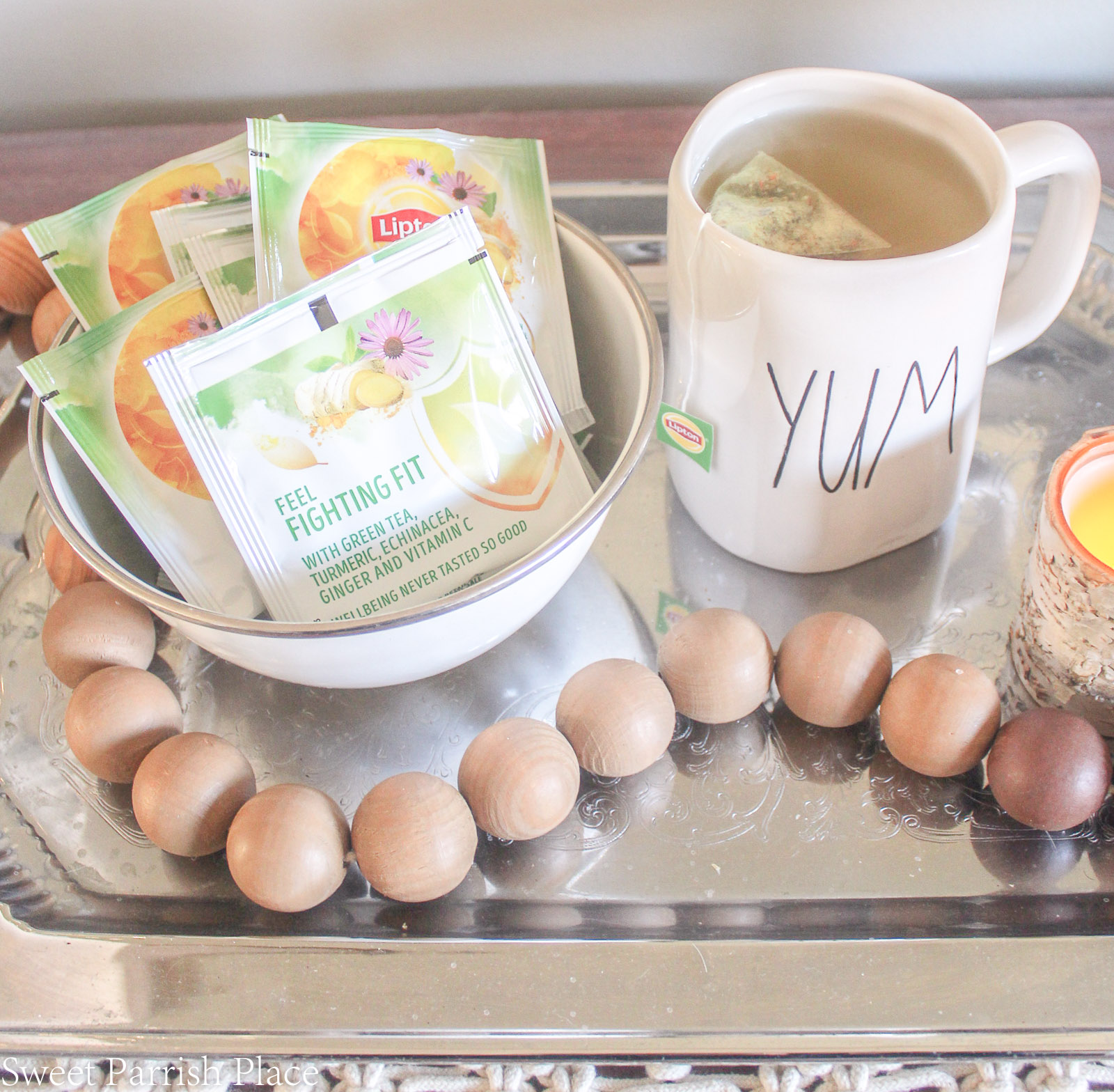 7 Self Care Tips For Sick Moms Lipton daily support herbal tea