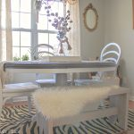 Weathered Grey Dining Table Makeover | Trashtastic Treasures