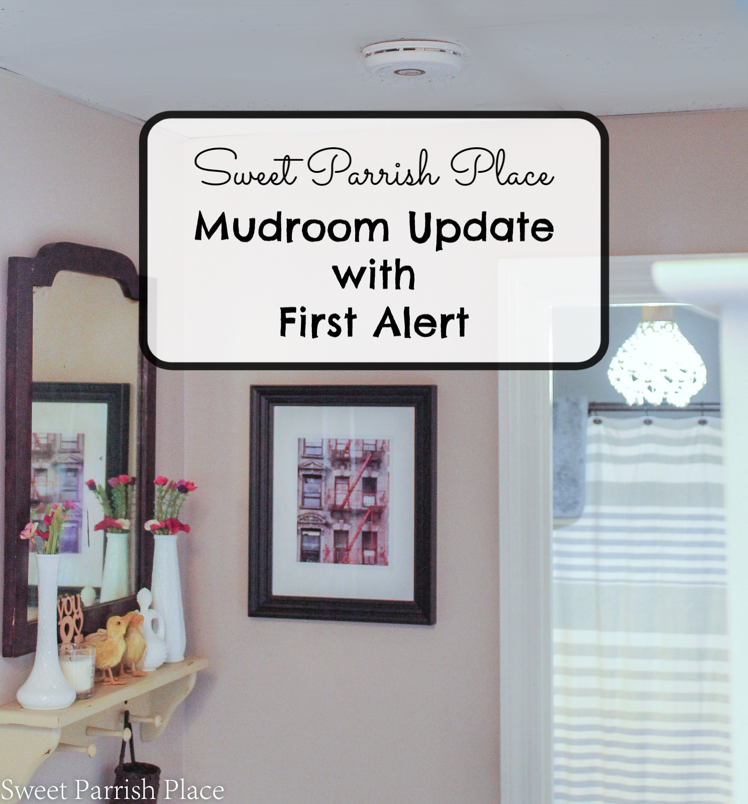 mudroom update with first alert