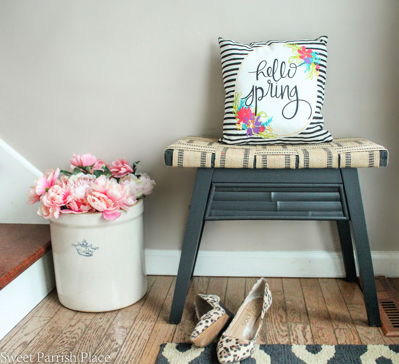 DIY bench makeover feature image