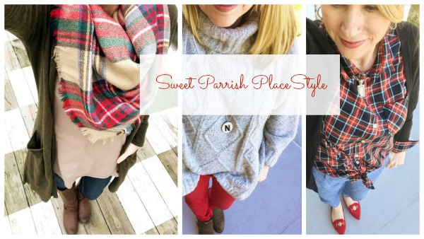 Winter Daily Outfits collage