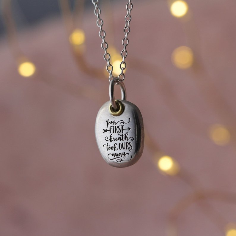 Personalized charm necklace Etsy