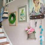 My Colorful 2019 Spring Entryway