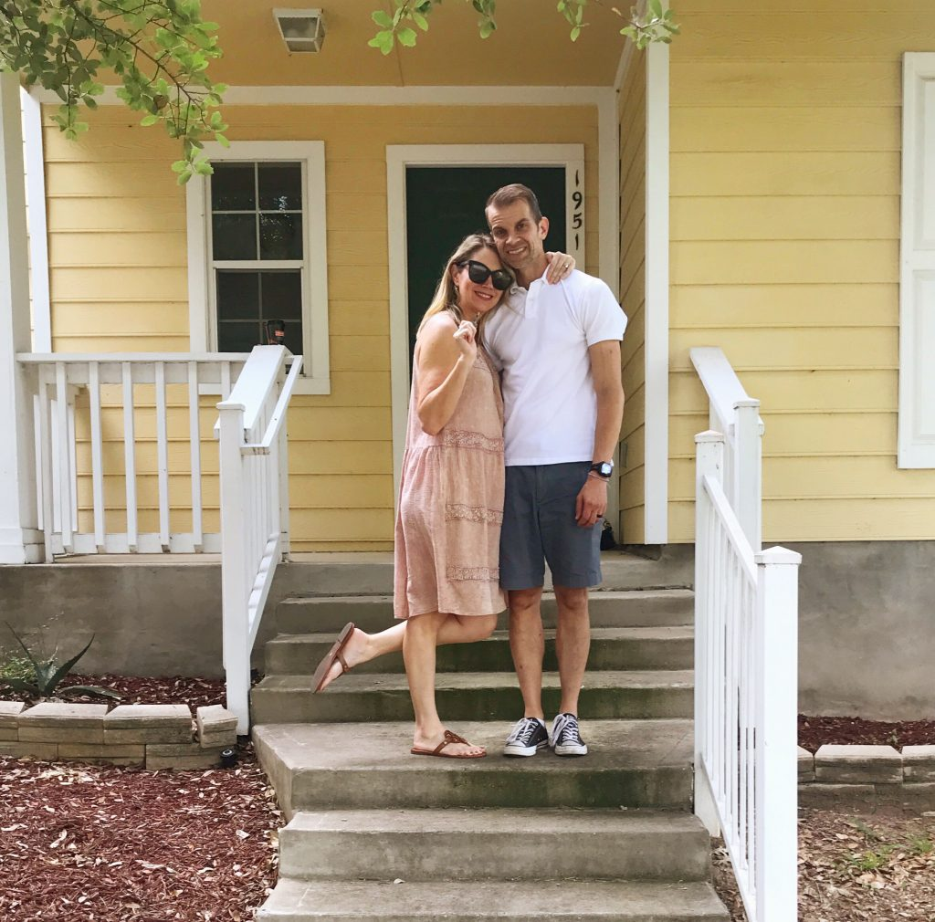 We bought a house in Texas