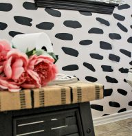 Bold Wallpaper Accent Wall
