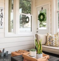 Modern Farmhouse Sunroom Makeover